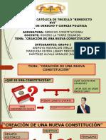 CAMBIO DE CONSTITUCION DEBATE