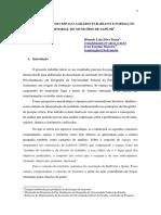A ORGANIZAÇÃO DO ESPAÇO AGRÁRIO PARAIBANO