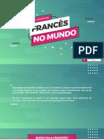 15553601215 - O Francs No Mundo - Aliana Francesa de So Paulo
