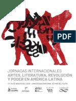 2° Circular Jornadas Artes, literaturas, revolución y poder en América Latina