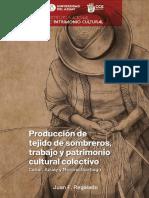 Producción de Tejido de Sombreros, Trabajo y Patrimonio Colectivo