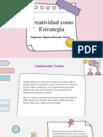 Creatividad como Estrategia Comunicacional