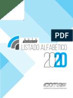 Directorio telefonico Sucre 2021