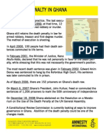 Ghana Fact Sheet With Action