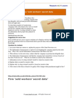 Case Study Firm Sold Inf Workers