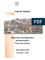 PROYECTOS APRODE PERU - Cerro San Cosme