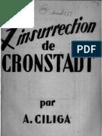 Ante Ciliga - Insurrection de cronstadt (1946)