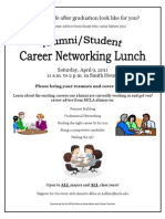 Career Networking Flyer