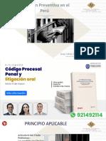 Prisión preventiva- clase de CPP