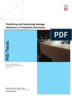 Predicting and Improving DamageTolerance of Composite Structures