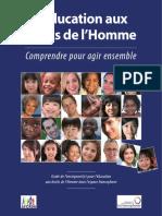 Guide_Education Aux Droits de l'Homme