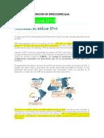 Capitulo 12 Ccna Asignacion de Direcciones Ipv6