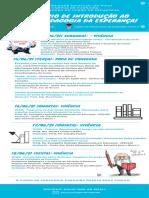Programação- Infografico-pedagogia- Seminário de Introdução