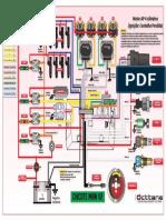 Esquema Eletrico Motor AP 4 Cilindros Chicote V2