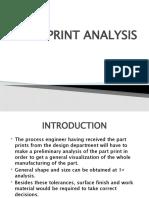 part print analysis