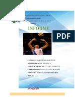 5 Informe Responsable de Los Equipos