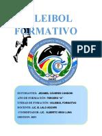 4 Infome Exposicion- Reglamento Voleibol