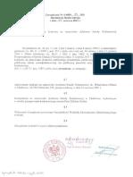Zarzadzenie Nr S.0050.89.2021 Ws.zatwierdz Konkursu Na Stanowisko Dyrektora Sz.P w Chabowce