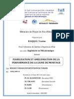FIABILISATION ET AMELIORATION  - BAQQAL Yassine_708