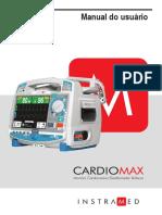 Manual Cardiomax Instramed r13 5 Portugues