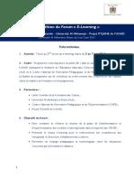 Fiche sur Forum e-learning-Juin 2013