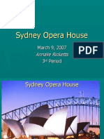 Class Powerpoint on the Sydney Opera House by Annalie at Clayton Middle School