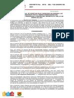 DECRETO MUNICIPAL DE PEREIRA NO. 0019 DE ENERO 07 DE 2021_ADOPTA DECRETO DEPARTAMENTAL 017 DEL 7 DE ENERO DE 2021