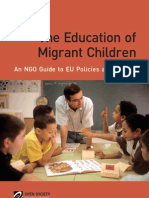 The Education of Migrant Children