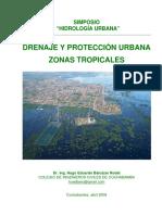 Drenaje Urbano - Zonas Tropicales