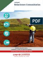 Diplomado Gestion de Relaciones Comunitarias y Conflictos Socioambientales en El Sector Minero