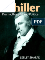 Schiller Drama Thought and Poetics