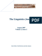 Farsi-speaking Learners' Differential Command of Definite Types A Cross-linguistic Study 113-130