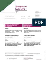 PCR Testergebnis Acuna Nieto