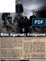 Songwriter's Monthly, March '11, #134 - Rise Against