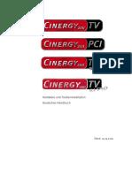 HB Cinergy 200-250-400-600 Hardware Deu