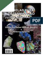 Tabela Determinação de Minerais