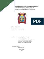 PSICOMETRIA TEST DE ACTITUDES Y VALORES
