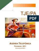 LISTA TELEFÔNICA TJE
