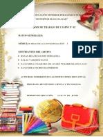 TRABAJO INMERSIÓN EN LAS INSTITUCIONES EDUCATIVAS