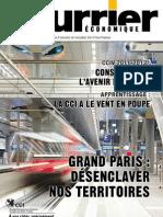 Le-Courrier-economique-n°-121-fevrier-2011- magazine économique-valdoise-yvelines
