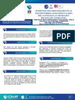 INTERVENÇÕES FISIOTERAPÊUTICAS NOS DISTÚRBIOS OSTEOMUSCULARES RELACIONADAS AO TRABALHO REVISÃO DE LITERATURA