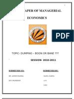 dumping term paper1