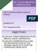 Volumetric COLOR medical image compression