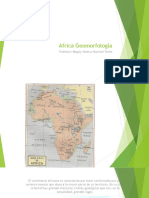 Africa Geomorfologia