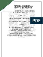 Industria química en México