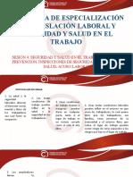 Legislación Laboral y Sst - Sesión 4