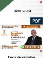 Feminicidio PDF gratis familia