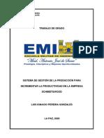 TRABAJO de GRADO FINAL - Est. Luis Ignacio Pereira Gonzales