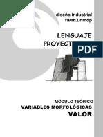 LP1 Módulo Teórico Variables Morfológicas VALOR
