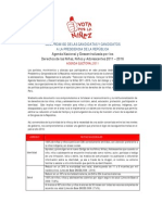 Agenda Nacional por la Niñez firmada por el candidato Ollanta Humala